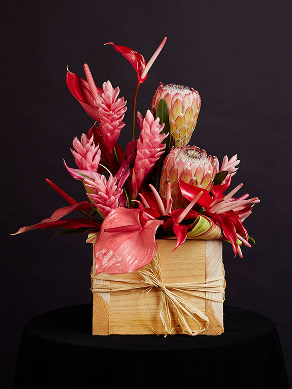 Wooden Box Pink
